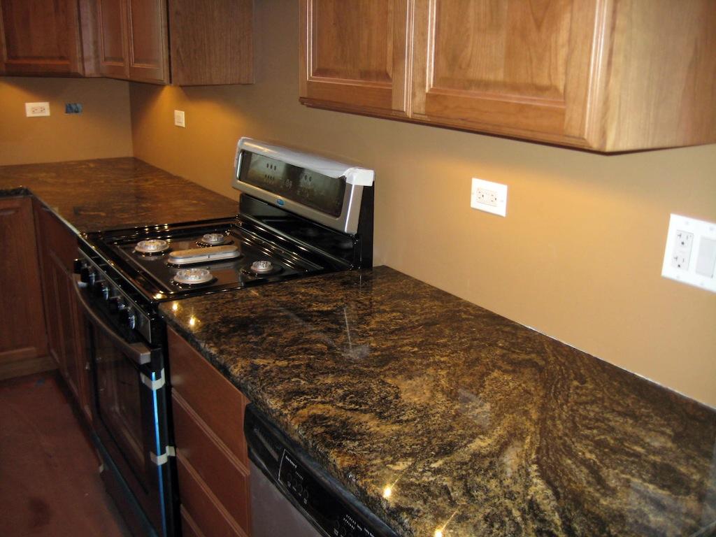 Kitchen granite countertops photo gallery granite design for Kitchen countertops granite